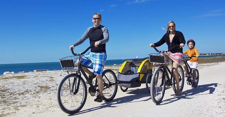 Cykelvagnen ger dig ett aktivt liv